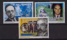 FAMOUS MEDICAL INSTRUMENTS DOCTORS MICROSCOPE IMAGES URUGUAY Sc#1780-2 MNH STAMP