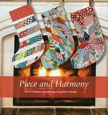 Piece And Harmony Quilt Pattern Pieced DH