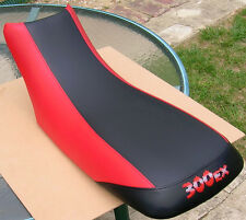 Honda  300ex GRIPPER seat cover black/red 300EX on back & other colors