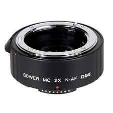 Bower 2x Teleconverter Lens SX4DGN for Nikon D7100 D5600 D5500 D5300 D3300 D3200
