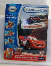 vTech Create A Story The World of Cars Radiator Springs International 2- Books