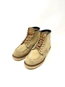 Red Wing Moc Toe Boots 8173 Heritage Hawthorne Abilene Men's Sz 7