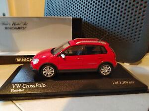 Minichamps Volkswagen Crosspolo 2006 Red 1:43
