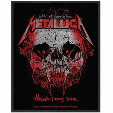 Metallica Wherever I May Roam 2013- WOVEN SEW ON PATCH - free shipping