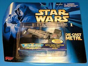 STAR WARS DIE CAST MIcro Machines/Titanium SERIES SHIPS GALOOB/HASBRO 1994-1999