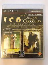 ICO/Ombra del Colosso HD-PS3-NUOVO e SIGILLATO