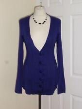 Primark Purple Long Cardigan Size UK 12 Ladies Thin Knitted