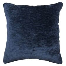 """Chenille Oversized Throw Pillow - Square - 24"""" x 24"""" - Navy - Threshold - NEW"""