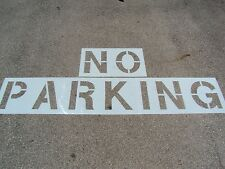 "21"" Aldi No Parking Stencil 1/16"" Parking Lot Striping Road Marking Stencil"