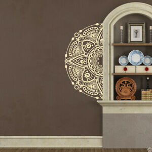 The Kazu Mandala Half wall decal nursery room home decor removable sticker K687
