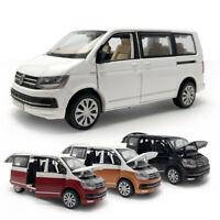 1:32 T6 Multivan MPV Metall Die Cast Modellauto Spielzeug Pull Back Sammlung
