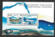 Greenland 615a Souvenir Sheet MNH FREE Shipping U.S.