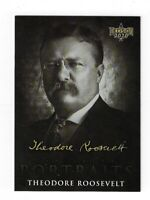 THEODORE ROOSEVELT DECISION 2020 POLITICAL TRADING CARD PORTRAIT CP29