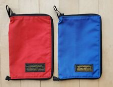 EDDIE BAUER Book Covers 2 Lot Blue Red 8x5