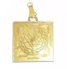 Meru Shri Yantra Locket Shree Yantra Meru Made in Panchdhathu Metal Energized