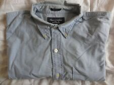 Abercrombie and Fitch Vintage Blue Oxford Shirt, Large