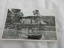 1950s postcard - Abbotsford from River Tweed - Melrose, Scottish Borders