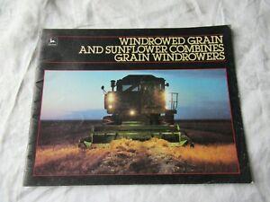 John Deere 6601 8820 7720 6620 4420 7721 titan sunflower combine brochure