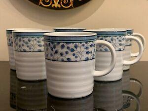 Mikasa Porcelain Susanne Mugs Set of 6