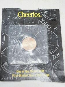 2000 Cheerios Cent in Original Packaging...