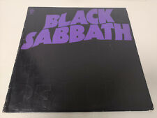 "BLACK SABBATH ""MASTER OF REALITY"" ORIG US 1971 VG++/EX w/ POSTER"
