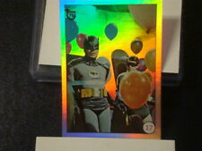 """2013 TOPPS 75TH ANNIVERSARY """"BATMAN LAFFS"""" RAINBOW FOIL PARALLEL CARD #43 NEW"""