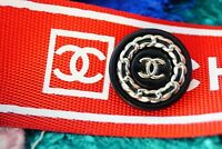 100% Chanel button 1 pieces   metal cc logo 0,8 inch 20 mm  💔💔💔