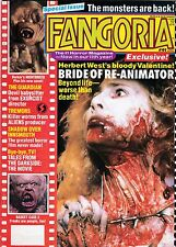 FANGORIA # 91 MAGAZINE HORROR TALES FROM THE DARKSIDE CLIVE BARKER MONSTERS