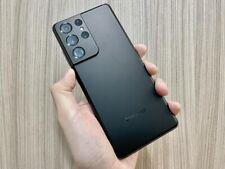 Samsung Galaxy S21 Ultra 5G SM-G998U - 128GB - Phantom Black (Unlocked) great co