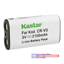 Kastar Replacement Battery for Pentax CR-V3 & DigiBino 100 Optio 230 Optio 30