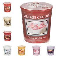 Village Candle Votives Candles - PACK OF 8 CANDLES - Muliple Fragrances!