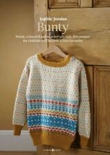 Beautiful Childs Bunty sweater jumper knitting pattern pullout - Sophie Jordan