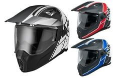 IXS iXS208 2.0 Enduro Helmet off-Road with Sun Visor