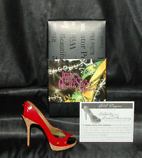 Just The Right Shoe by Lorraine Vail Shoe Miniatures- Chili Pepper Nib