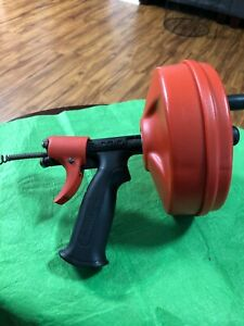 Ridgid Hand Auger/Snake with Power Spin