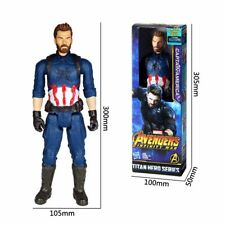 """12"""" Captain America AVENGERS MARVEL Infinity War Action Figure Kids Toy Gifts"""