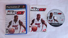 JUEGO NBA 2K7 2K SPORTS BASTKET BASKETBALL PLAYSTATION 2 PS2 PAL ESPAÑA