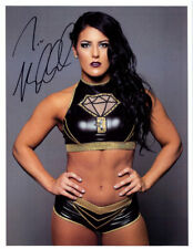 Autographed Tessa Blachard Promo Picture Womens Wrestling WOW WWE Lucha