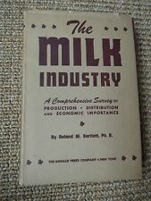 The Milk Industry by Roland W Bartlett 1946, Vintage, Business