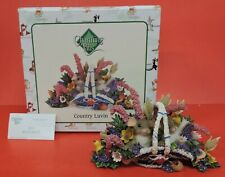 Fitz And Floyd Charming Tails Country Luvin Figurine 88/141