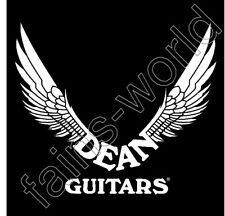 Dean Guitars Banner Flag Sign Poster - 4' X 4' dimebag darrell pantera black