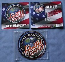 CD von  Manfred Mann's Earth Band ‎– Live In USA