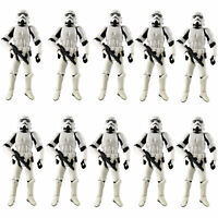 "Lot 10 Hasbro 3.75"" Star Wars Stormtroopers OTC Trilogy Action Figure Boy Toy"