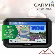 """Garmin Dezl 580LMT-D 5"""" Camión SAT NAV-Europa-mapas de por vida y tráfico-Wifi"""