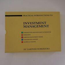INVESTMENT MANAGEMENT DC GARDNER WORKBOOKS