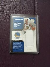 2017-18 Panini Chronicles Stephen Curry GAME-WORN Patch /199 - Warriors