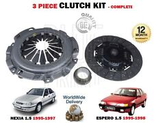 FOR DAEWOO ESPERO NEXIA 1.5 16V A15MF 1995-> NEW CLUTCH PLATE BEARING COVER KIT