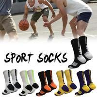 Men Sports Sock Long Socks Warm Football Socks Basketball Hiking Ski Anti Slip