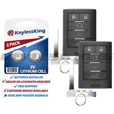 2x Keyless Entry Remote Security Key Fob for 2010-2015 Cadillac SRX NBG009768T