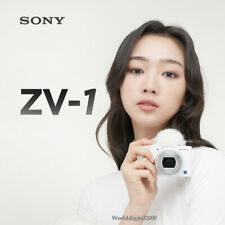 SONY ZV-1 (White) Vari-angle LCD Shoot 4K ND filters Compatible with GP-VPT2BT